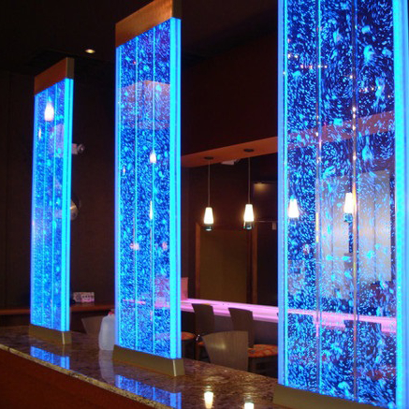 Fine ornaments - water curtain wall